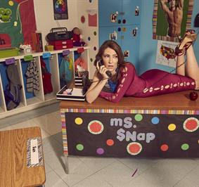 Katy Colloton as Ms. Snap